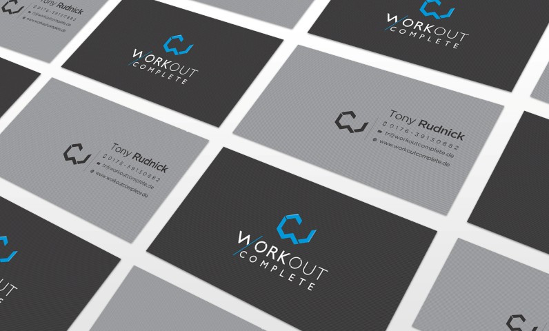 business cards workout